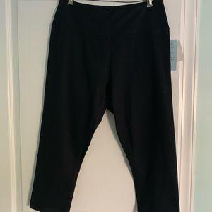 Z by Zella crop leggings. 1X. Black